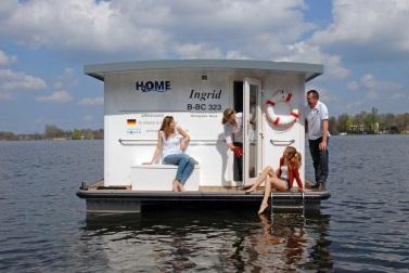 MV Hausboot Riverlodge H2Home Ingrid