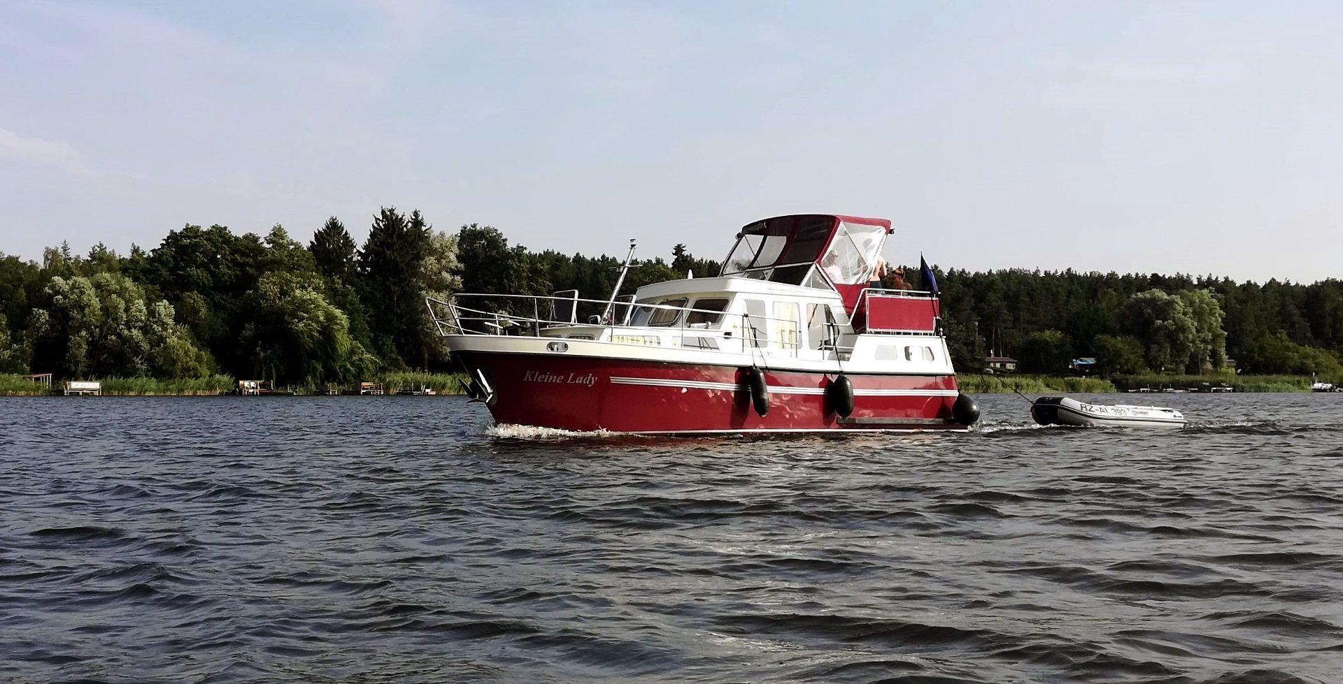 Motorboot mieten auf der Müritz