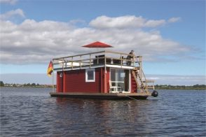 MV Hausboot Riverlodge Sundeck Tante Frieda